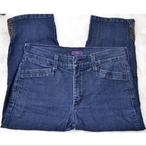 Preowned NYDJ Cropped Jeans